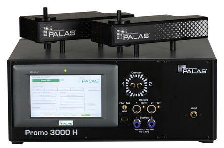 Aerosolspektrometer, Aerosol, Partikel, Streulichtaerosolspektrometer, Lichtwellenleitertechnik, Partikelgrößenanalyse, Mess- und Regeltechnik, heizbar