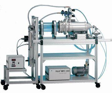 Filterprüfstand, Filtermedienprüfstand, Filterprüfsystem, Filtermedien, Staubdispergierung, Dichtigkeitsprüfung,  Aerosol, Mess- und Regeltechnik
