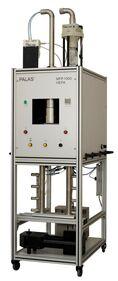 Filterprüfstand, Filtermedienprüfstand, Filterprüfsystem, Filtermedien, Streulichtspektrometer, Aerosolgenerator, Aerosolkonzentration, Aerosolerzeugung, Partikelgrößenanalyse, Abscheidegradbestimmung, Mess- und Regeltechnik