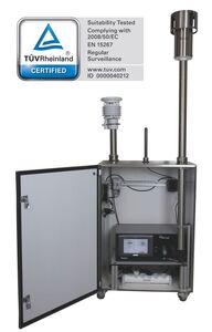 Feinstaubmessgerät Fidas 200 S, TÜV-zertifiziert