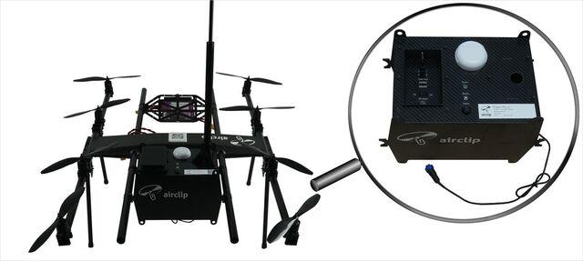 Zertifiziertes Feinstaubmessgerät Fidas 200, Fidas Fly, Mobiles Feinstaubmessgerät, Batteriebetrieben, Feinstaubmessgerät Drohne, Umwelttechnologie, Luftqualität, PM2,5, PM10