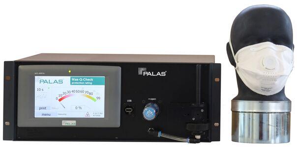 Mas-Q-Check: Test von FFP-Schutzmasken, Aerosolgenerator